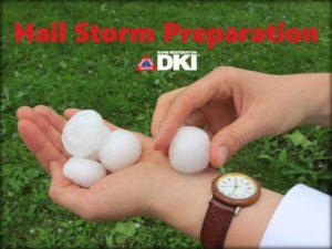 hail storm preparation