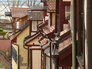 rain gutter homes