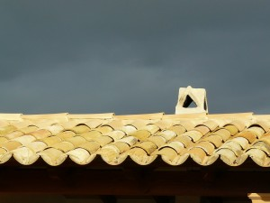 roof with tile