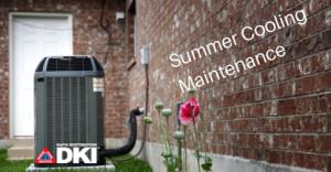 Summer Cooling Maintenance