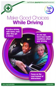 make good choices while driving