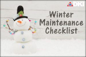 toy snowman. checklist
