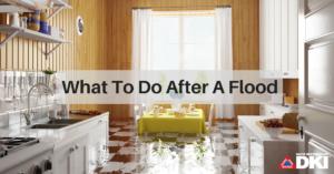 flooding kitchen rapid restoration
